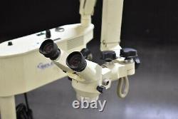 Seiler Ssi-102 Dental Microscope Unit Halgen Magnification 120v Machine