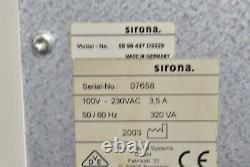 Sirona Cerec 3 Dental Lab Cad/cam Dentistry MILL Machine MILL For Parts Sirona Cerec 3 Dental Lab Cad/cam Dentistry MILL For Parts Sirona Cerec 3 Dental Lab Cad/cam Dentistry MILL For Parts Sirona Cerec 3 Dental Lab Cad