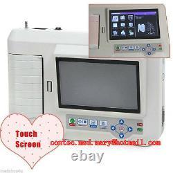 Tactile Numérique 6 Canaux 12 Plomb Machine Ecg / Logiciel Électrocardiographe Pc