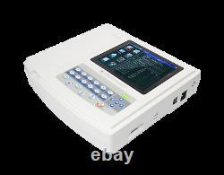 USA Contec 12 Channel 12 Lead Ecg Ekg Machine Electrocardiograph Logiciel Libre
