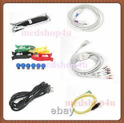 Us Digital 12-canal/lead Electrocardiograph Ecg/ekg Machine Interprétation Fda