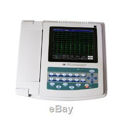 Us Numérique 12 Dérivations 12 Canaux Électrocardiographe Ecg / Machine, L'interprétation