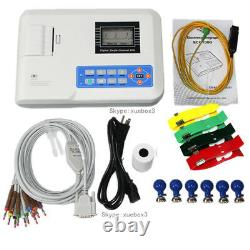 Us Seller Digital Monocanal 12-lead Ecg/ekg Machine Electrocardiographe Fda