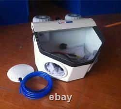 Ventes Dentaires D'équipement De Machine De Dynamitage De Sable De Porcelaine De Laboratoire Dentaire
